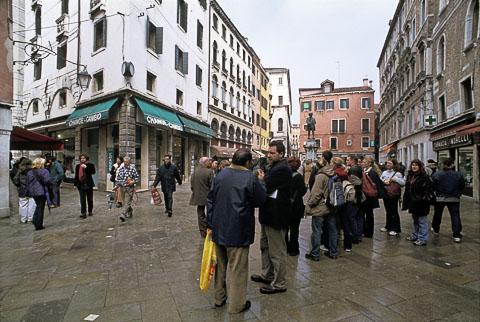Campo San Bartolomeo, Venice, Italy - ©2001 J.Crawford