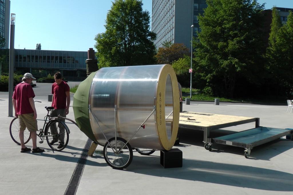 H3T Architekti - Cyclo-Sauna, Kolonok, 2010