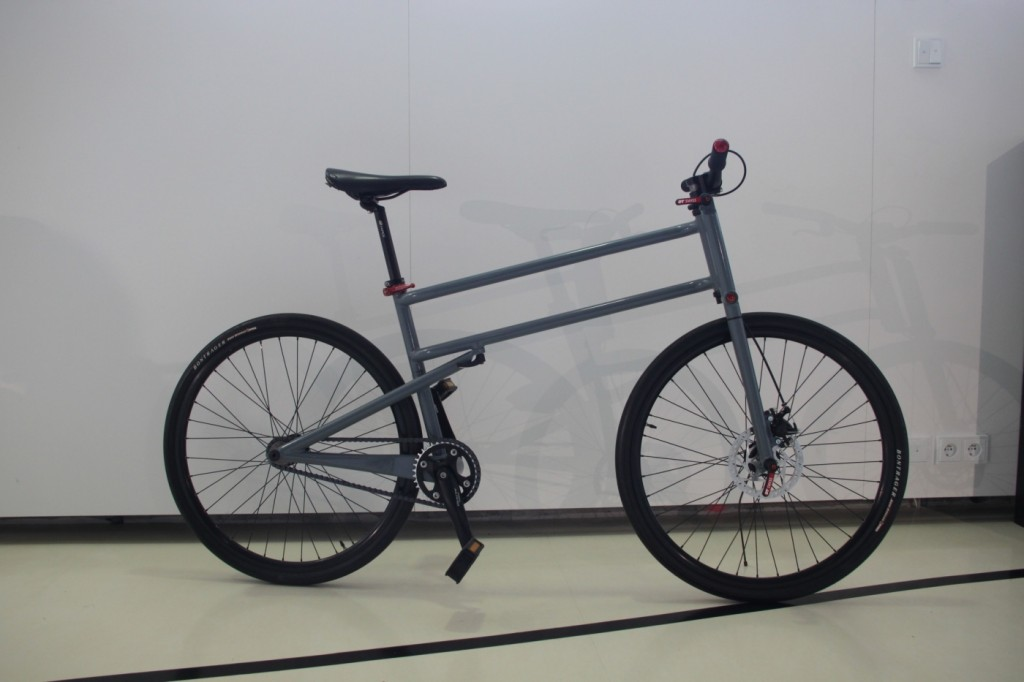 Mikuláš Novotný - Prototype of the folding bike, 2010