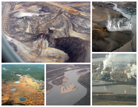Tar Sands Collage - cc Jungbim